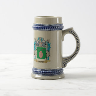 Cooney Coat of Arms - Family Crest Beer Stein