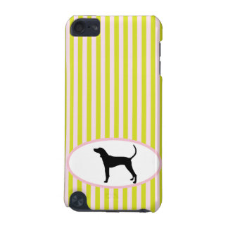 Coonhound dog silhouette ipod touch 4G case iPod Touch 5G Cover