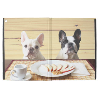 """Cooper and Fredrick the Frenchie iPad Pro 12.9"""" Case"""