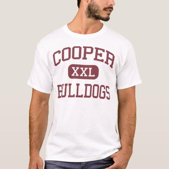 Cooper - Bulldogs - High School - Cooper Texas T-Shirt