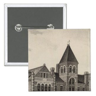 Cooper Memorial College, Sterling, Kansas 15 Cm Square Badge
