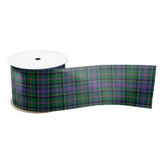 Cooper Scottish Tartan Pattern Satin Ribbon