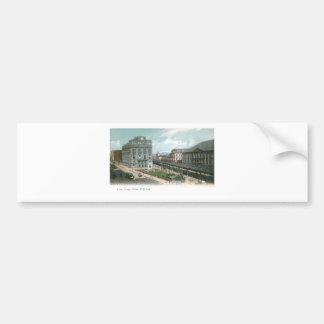 Cooper Union. NY City. Bumper Sticker