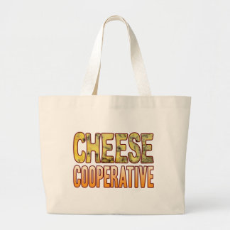 Cooperative Blue Cheese Large Tote Bag