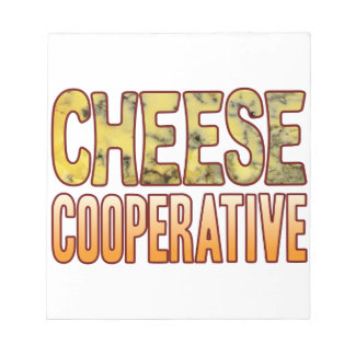 Cooperative Blue Cheese Notepad
