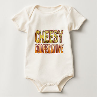 Cooperative Blue Cheesy Baby Bodysuit