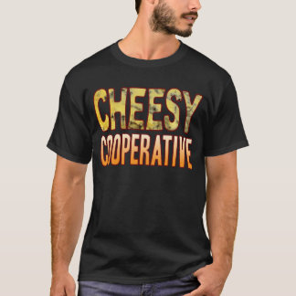 Cooperative Blue Cheesy T-Shirt