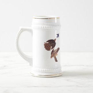 Cooper's Hawk Stein Mug