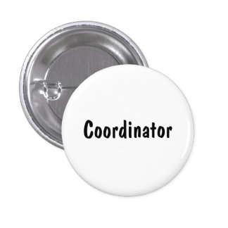 Coordinator 3 Cm Round Badge