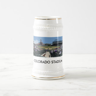 Coors Field Pan, COLORADO STADIUM Beer Stein