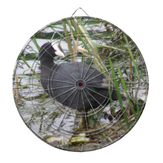 Coot on the Riverbank Dart Board