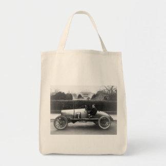 Cootie Race Car Vintage White House Photo Bag
