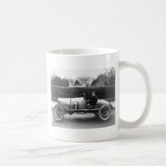 Cootie Race Car Vintage White House Photo Basic White Mug