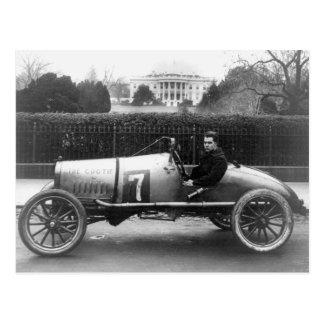 Cootie Race Car Vintage White House Photo Postcard