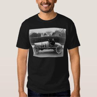 Cootie Race Car Vintage White House Photo T-shirts
