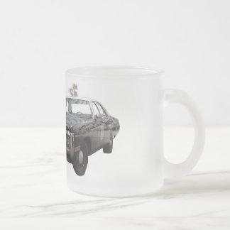 cop car mug by highsaltire