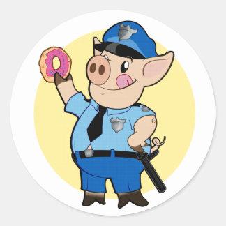 Cop Chops Sticker