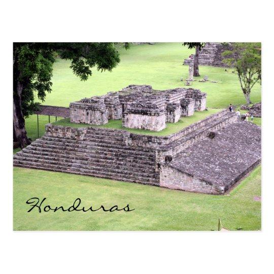 copán ruins honduras postcard