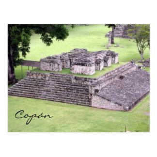 copán ruins postcard