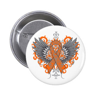 COPD Awareness Cool Wings 6 Cm Round Badge