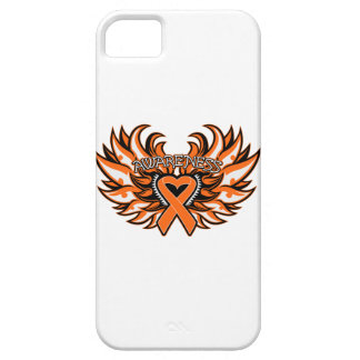 COPD Awareness Heart Wings.png iPhone 5 Cover