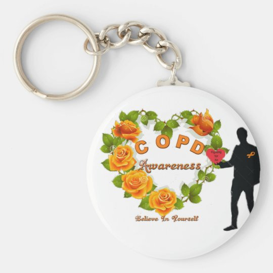 COPD AWARENESS KEY RING