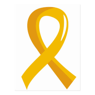 COPD Awareness Ribbon 3 Postcard