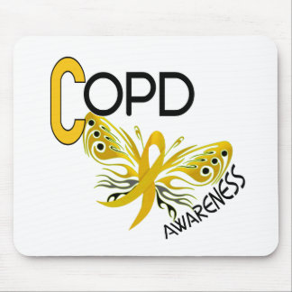 COPD Butterfly 3.1 Awareness Mousepad