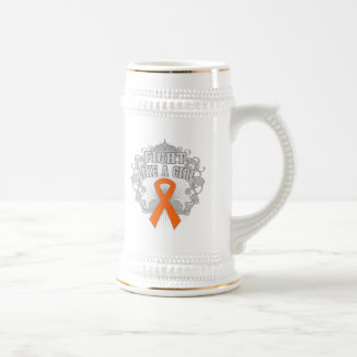 COPD Fight Like A Girl Fleurish 2 Beer Steins