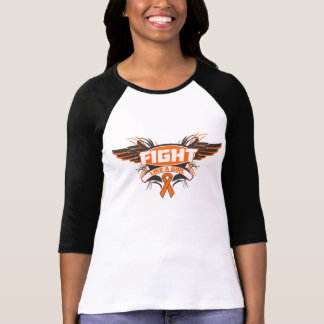 COPD Fight Like a Girl Wings 2 png Shirt