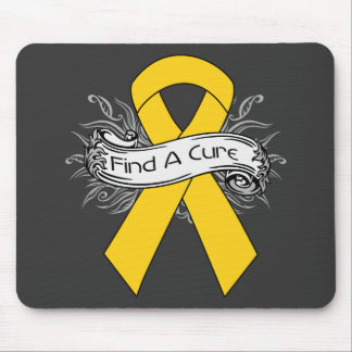 COPD Find A Cure Ribbon v2 Mouse Pad