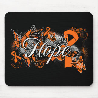 COPD Hope Garden Ribbon Mouse Pads