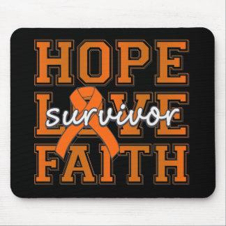 COPD Hope Love Faith Survivor Mouse Pads