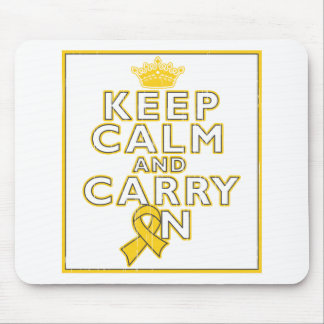 COPD Keep Calm and Carry ON Mousepads