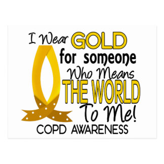 COPD Means World To Me 1 Postcard