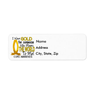 COPD Means World To Me 1 Return Address Label