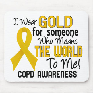 COPD Means World To Me 2 Mousepads