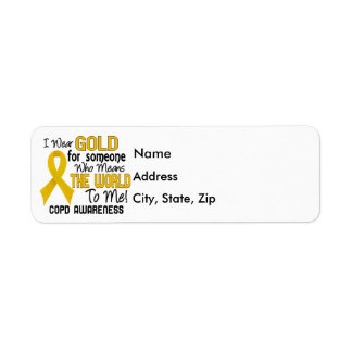 COPD Means World To Me 2 Return Address Label
