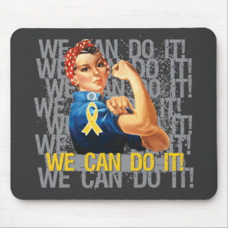 COPD Rosie WE CAN DO IT. Mouse Pad