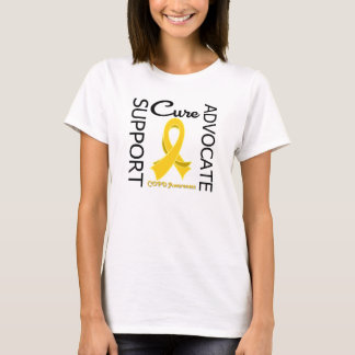 COPD Support Advocate Cure T-Shirt