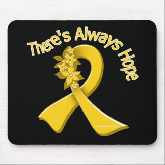 COPD There s Always Hope Floral Mouse Pad