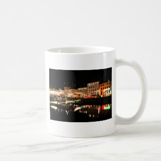 Copenhagen at night coffee mug