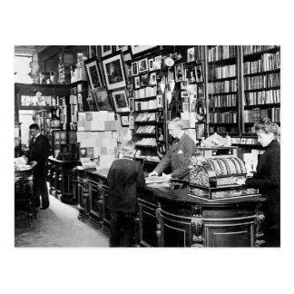 Copenhagen Bookstore, 1899 Postcard