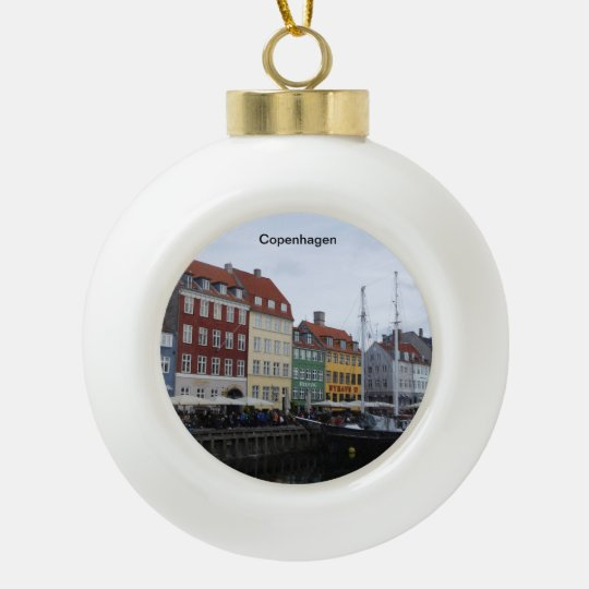 Copenhagen Christmas Tree Ornament