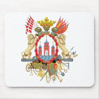 Copenhagen Coat of Arms Mouse Mat