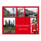 Copenhagen Collage 3 Postcard