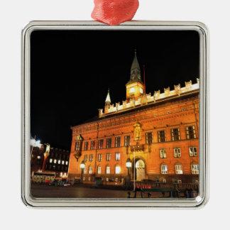 Copenhagen, Denmark at night Christmas Ornament