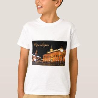 Copenhagen, Denmark at night T-Shirt