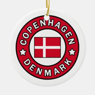 Copenhagen Denmark Christmas Ornament