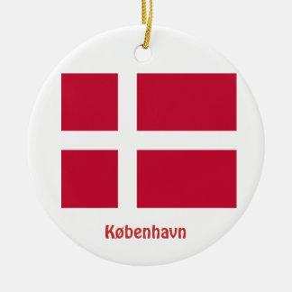 Copenhagen* Denmark Christmas Ornament